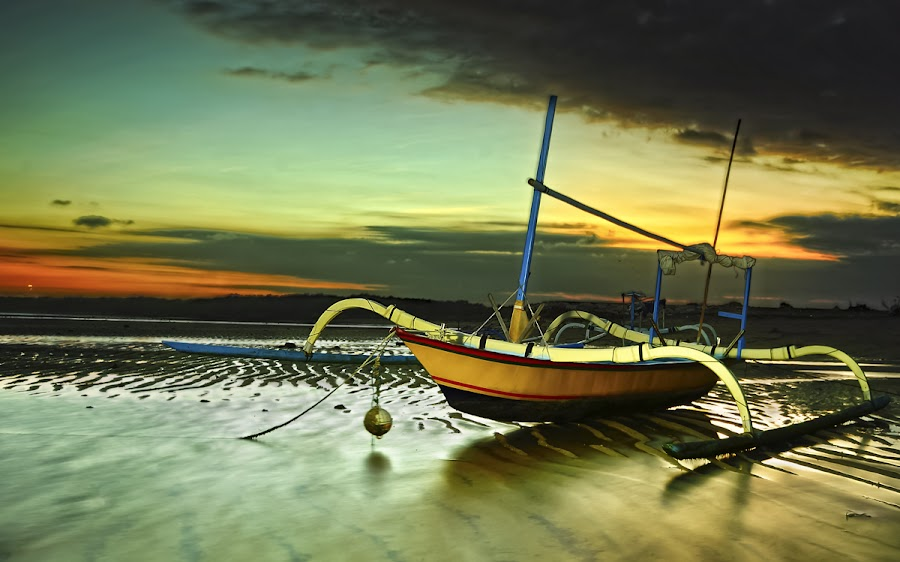 Jukung by De Roy - Transportation Boats