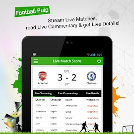 Football Pulp - Watch it Live! Screenshot 14