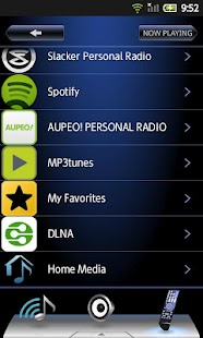 Onkyo Remote for Android 2.3- screenshot thumbnail