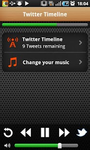 The Social Radio for Twitter - screenshot thumbnail