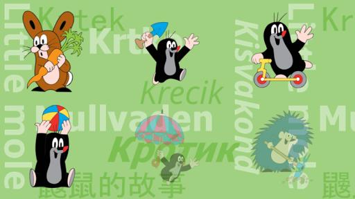 Krtek - Omalovánky - Free