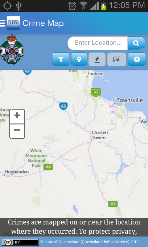 Policelink (Queensland)- screenshot