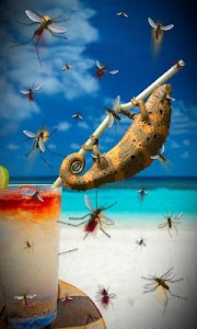 Beach chameleon lwp Free screenshot 1
