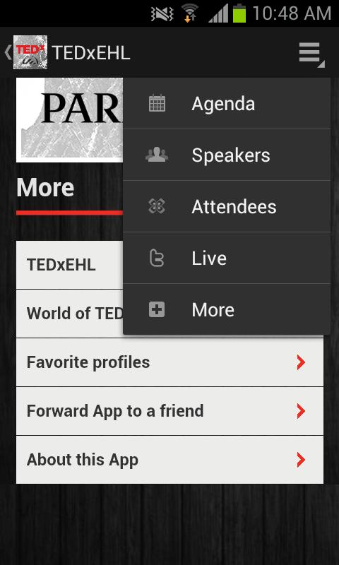 TEDxEHL - screenshot
