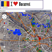Bucarest map