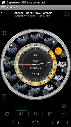 eWeather HD – weather, hurricanes, alerts, radar v7.8.1 [Patched]