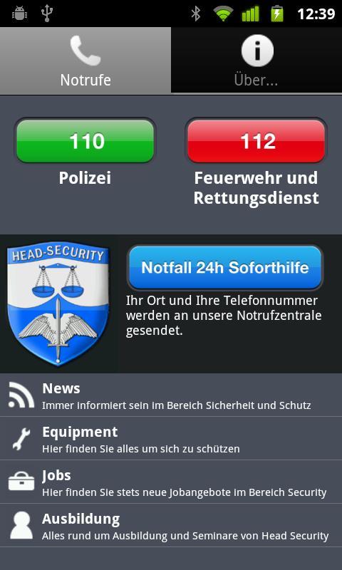 Head Security – Screenshot