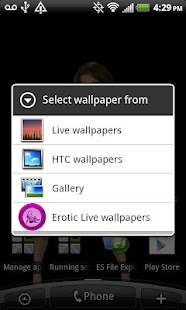 Erotic Live Wallpapers - screenshot thumbnail