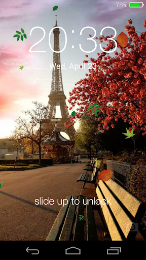 【免費個人化App】Spring live wallpaper lock-APP點子
