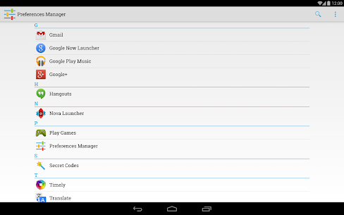 Preferences Manager 9