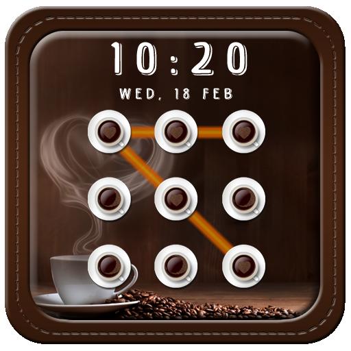 咖啡模式屏幕鎖定 個人化 App LOGO-硬是要APP