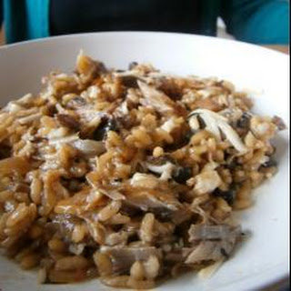 Smoked Mackerel and Mushroom Risotto Recipe