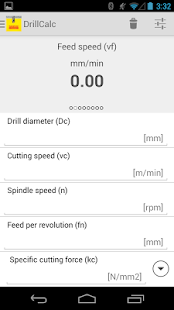 Drilling & Tapping Calculator- miniatura screenshot
