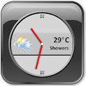Slate Clock Widget [Free] icon