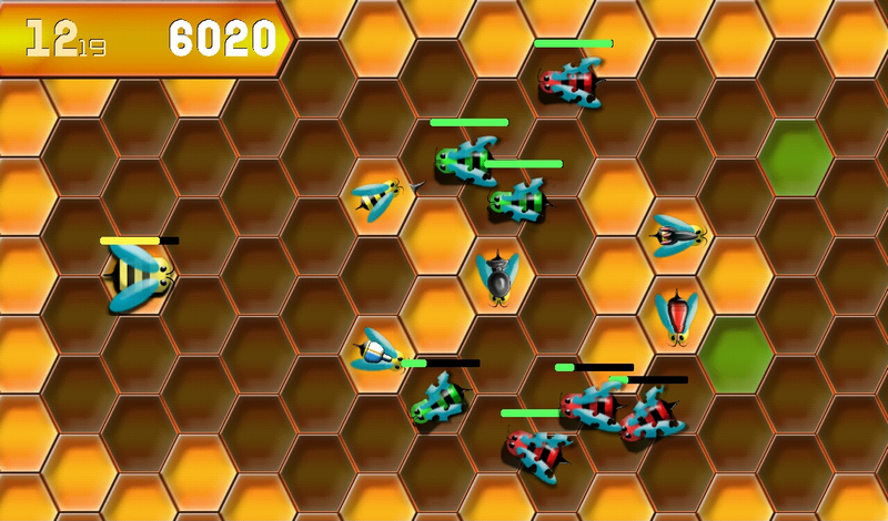 Zombie Bees - screenshot