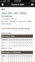 Screenshot of MJS Baseball