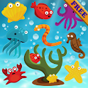 Fishes Puzzles for Toddlers ! icon