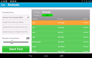 Screenshot of Language Perfect