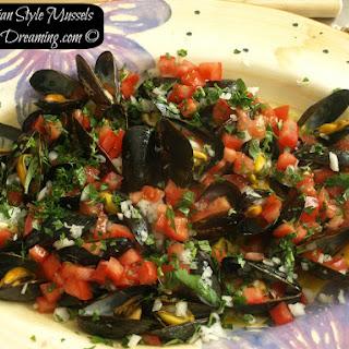 Peruvian Style Mussels