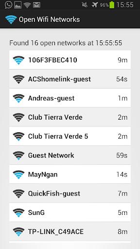 Open Wifi Network Finder