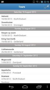 MTB Tours Calendar NL- screenshot thumbnail