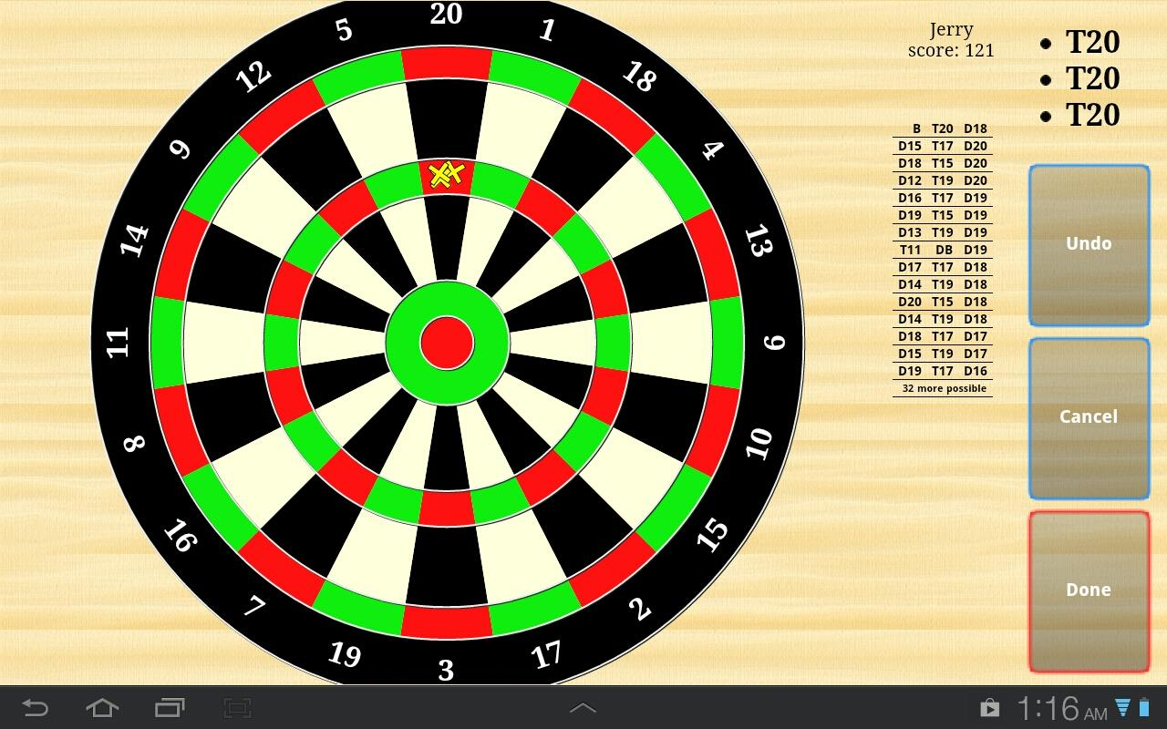 Darts Scores- screenshot