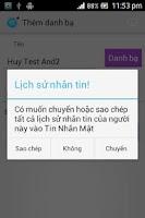 Screenshot of Tin nhắn mật   Tin nhan mat