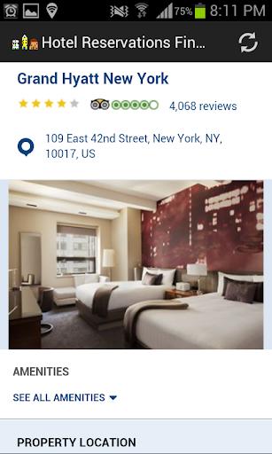 Hotel Reservations Finder