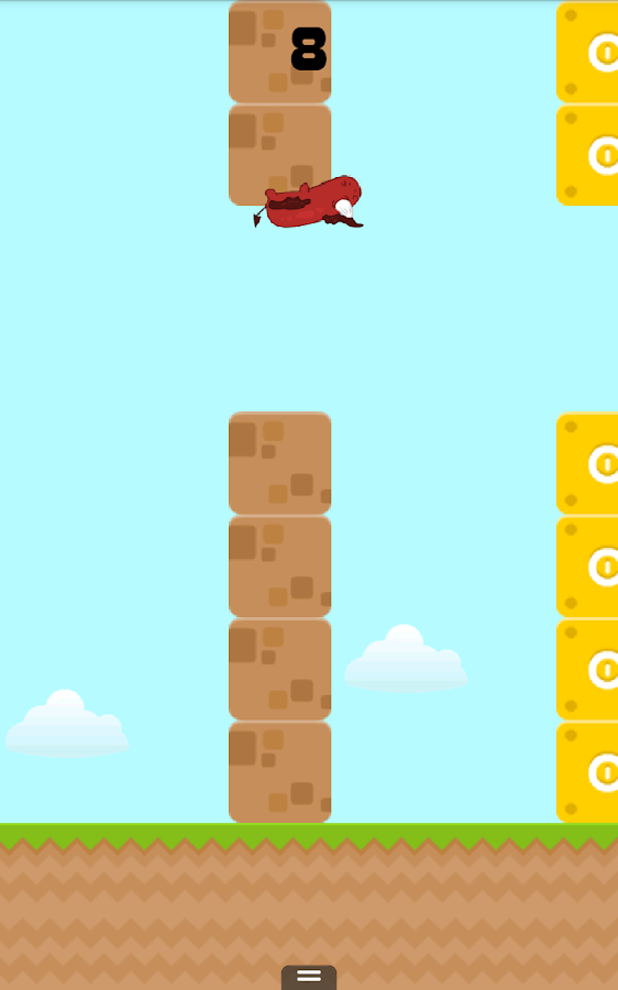 Flappy Fluffy- screenshot