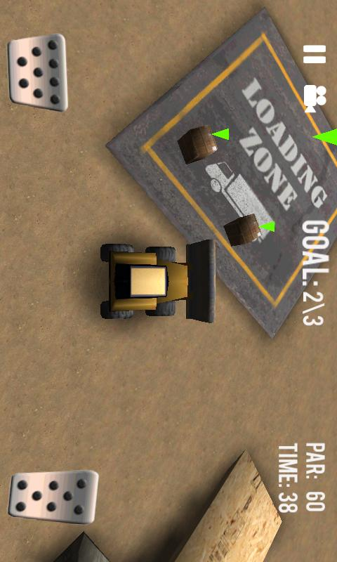 Bulldozer Challenge- screenshot