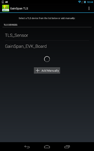 【免費工具App】GainSpan TLS-APP點子