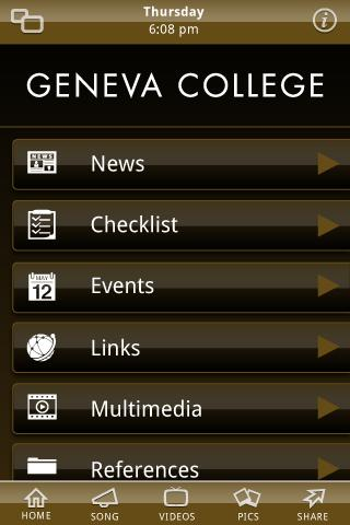 Geneva College - screenshot