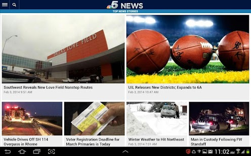 NBC DFW - screenshot thumbnail