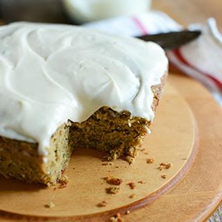 Gluten Free Zucchini Cake (Dairy Free)