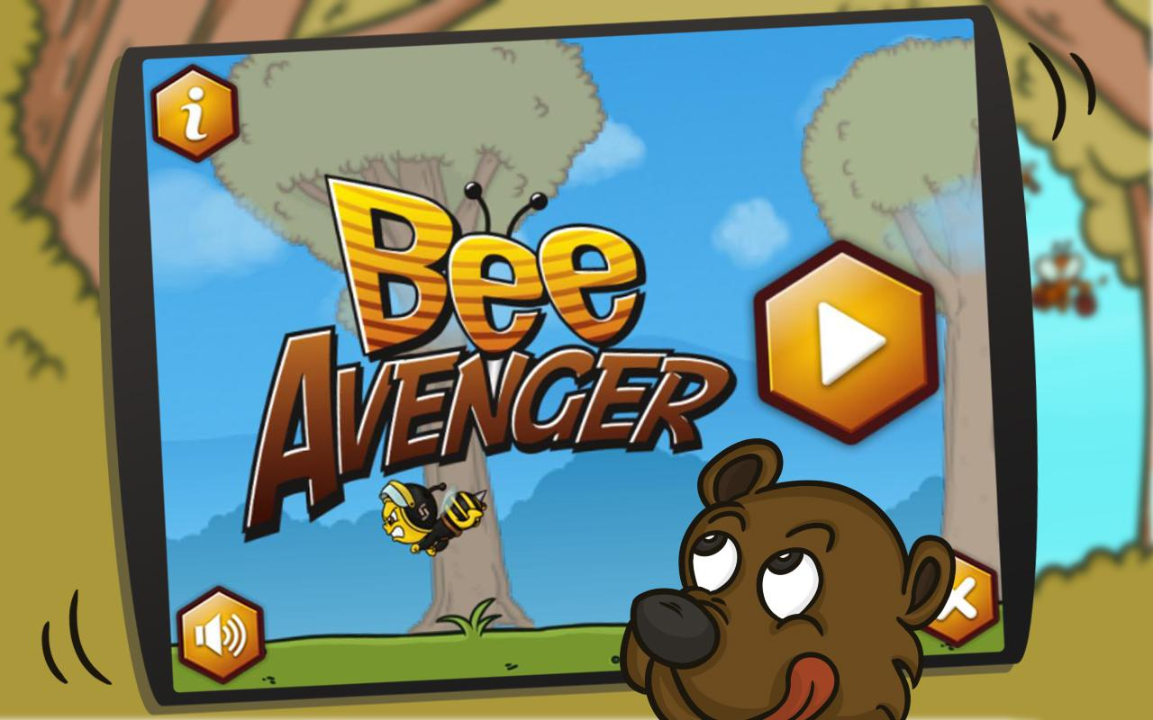 Bee Avenger HD FREE - screenshot