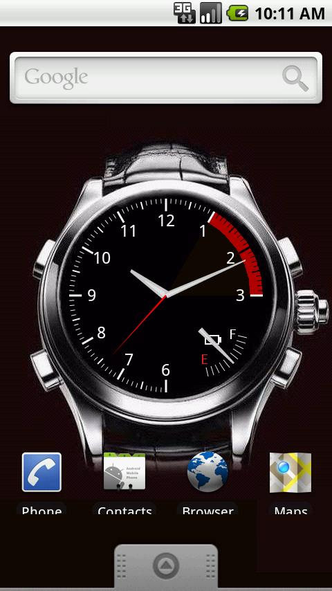 Watch Live Wallpaper - screenshot