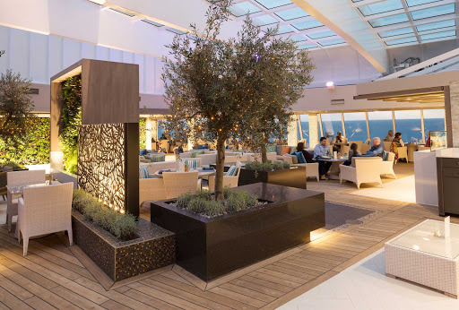 Enjoy a wide selection of inventive cuisine at the Tastes specialty restaurant aboard Crystal Serenity.