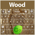 GO Keyboard Wood