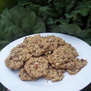 Rhubarb Drop Cookies.