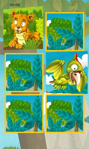 Dinosaur Fun Memory Puzzle