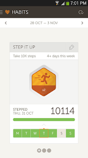 Basis Fitness & Sleep Tracker - screenshot thumbnail
