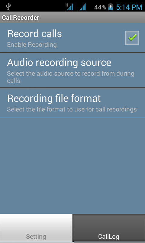 voice call recorder is use for record incoming and outgoing call using ...
