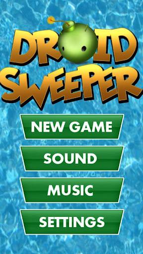 Super Droid Mine Sweeper