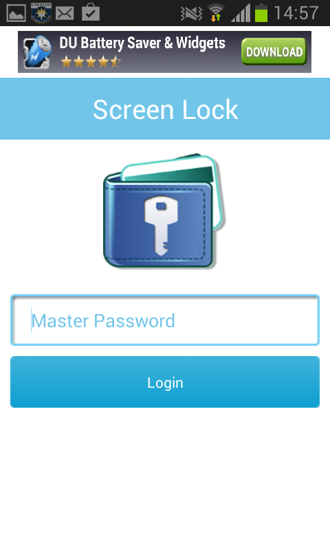Secure Wallet - screenshot