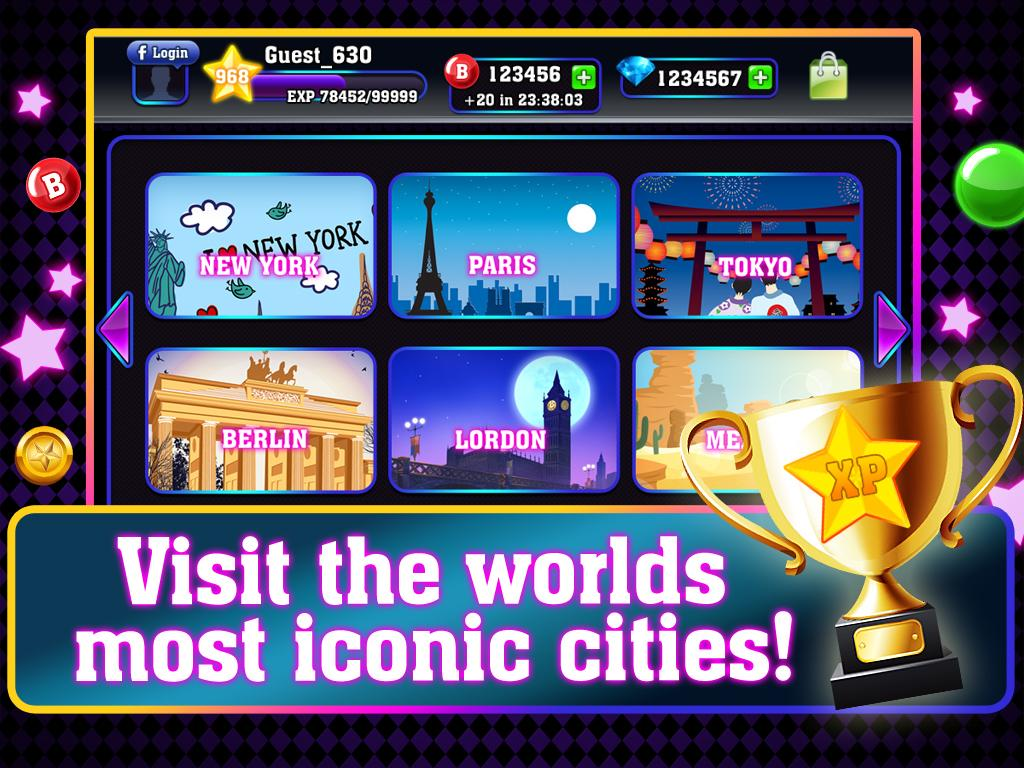 Bingo City Tour- screenshot