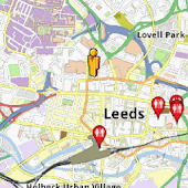 Leeds Amenities Map (free)