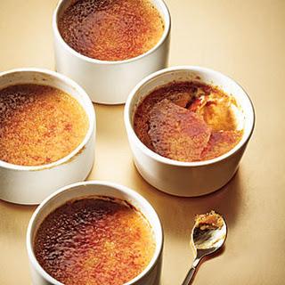 Maple-Gingerbread Pots de Crème