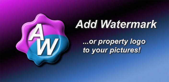 save apk to add watermark full