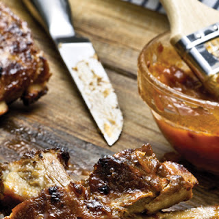 Apple-Bourbon Barbecue Sauce.