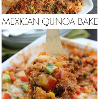 Mexican Quinoa Bake.